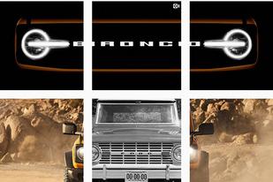 福特再爆全新Bronco车型预告图 新车将于7月13日正式亮相