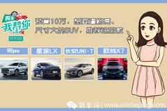 购车我帮你:10万左右高逼格SUV应该怎么选?