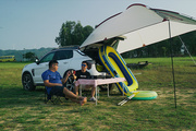 盛夏来临,是时候开着领克01去湖边露营了!