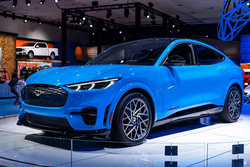 有望参加北京车展,福特Mustang Mach-E于国内曝光