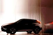 三菱发布新款奕歌预告图,或将大面积还原概念车设计