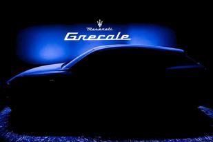 玛莎拉蒂中型SUV Grecale预告图,将与Macan正面竞争