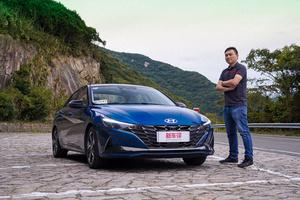 试驾北京现代第七代伊兰特:不够完美但够完善