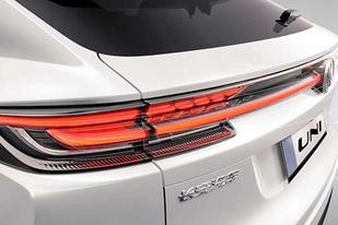定位中型轿跑SUV,长安UNI系列第二款车型预告图曝光