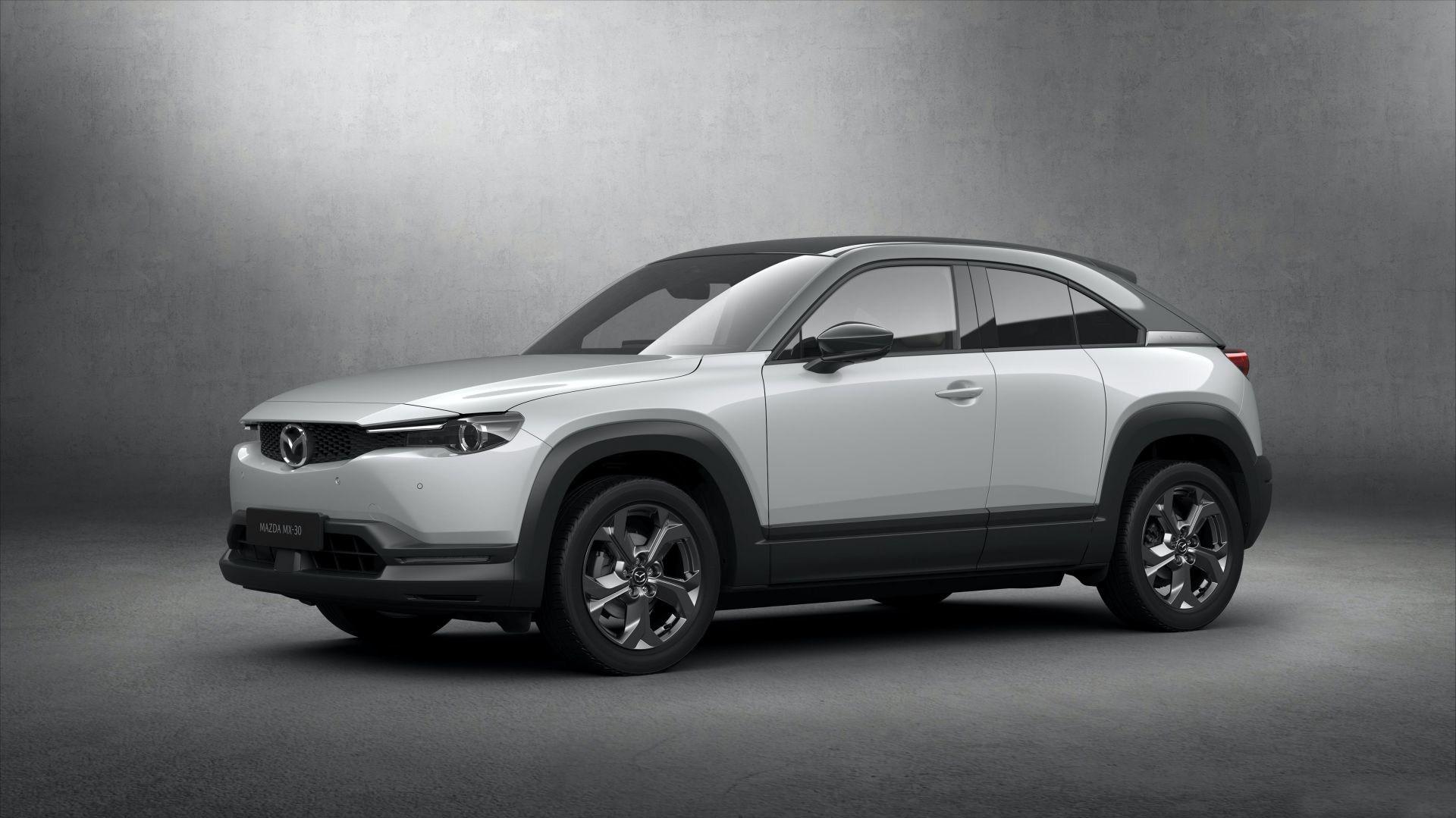 马自达首款轻混车型 MX-30混动将10月8日发布