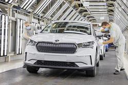 首款MEB新车来袭,斯柯达ENYAQ iV已完成正式生产