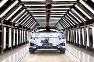 明年三季度上市/定位中大型SUV 岚图首车预生产下线