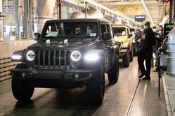 将于明年上市,Jeep插电混动版牧马人迎来正式下线