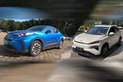 M-NV和C-HR EV,同样是纯电SUV,为啥价格却相差10万?