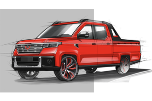 五菱汽车再放大招,全新皮卡车型正式定名五菱征途
