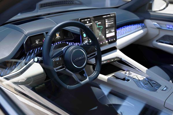 重豪华科技体验 领克ZERO concept内饰设计首度曝光