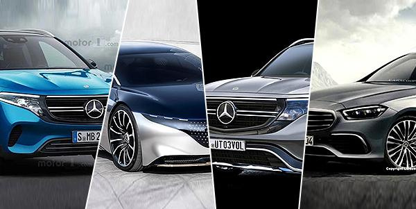 EQA、EQB、EQ...,还有全新奔驰C!奔驰2021年新车有东西
