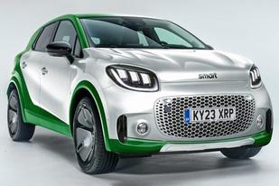 Smart全新纯电渲染图曝光:定位小型SUV,将于2022年上市