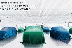 2025年起成纯电动品牌 捷豹路虎发布全新纯电动战略