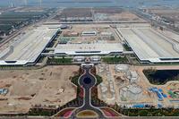 探访恒大广州南沙汽车城 首期整车工厂厂房建完