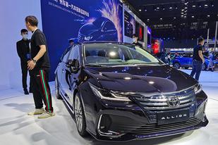 一汽丰田ALLION正式定名亚洲狮
