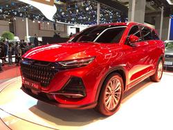 乘胜追击:欧尚X7 PLUS亮相2021上海车展