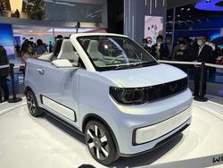 2021上海车展:宏光MINI EV敞篷版概念车、五菱星辰亮相