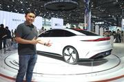 上海车展新车 上汽+阿里造的智己L7长5.1米/轴距超3.1米