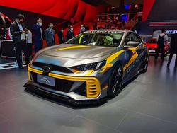 影豹领衔多款新车亮相上海车展 广汽自主找到了新出口?