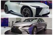 2021上海车展:雷克萨斯新ES全球首发/概念车LF-Z首展