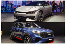 2021上海车展:起亚EV6/智跑Ace亮相,全新LOGO上身