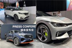 探馆起亚展台,EV6、智跑Ace、嘉华…,原来新车这么多!
