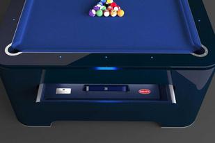 顶级超跑品牌的周边豪横 布加迪台球桌价值25万欧元
