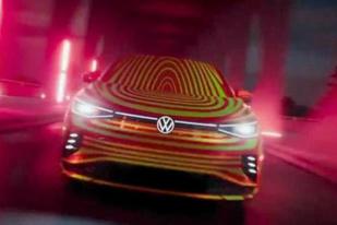 纯电轿跑SUV/年内或推出 大众ID.5预告图首度曝光