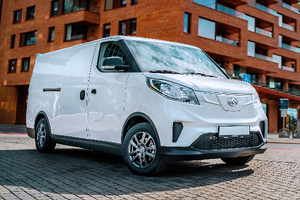 物流新军 2021款上汽大通MAXUS EV30上市售12.88万起