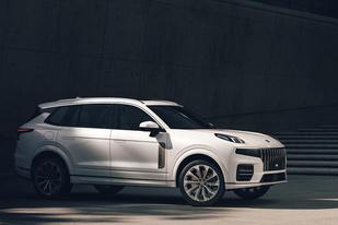 领克09官图公布:定位7座中大型SUV,将于年内亮相