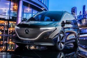 全新MPV成员登场/配备双侧滑门 奔驰EQT Concept发布