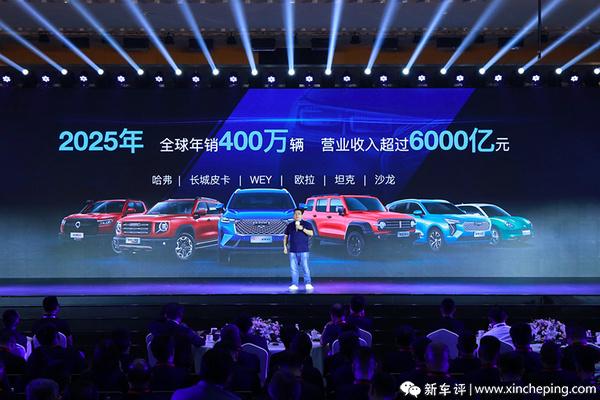 这可不是小目标! 长城2025年要卖400万辆汽车