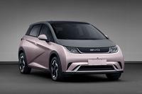 全新e平台3.0打造,比亚迪全新纯电动轿车EA1实车曝光