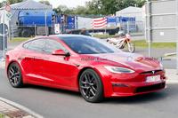 特斯拉Model S纽博格林赛道谍照曝光,圈速或在7分内