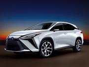 雷克萨斯未来四年推7款新车 RX明年换代