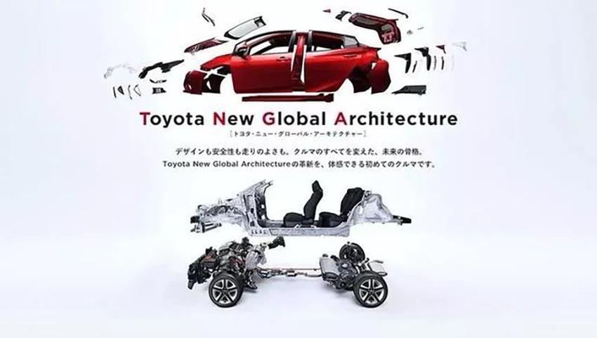 TNGA架构究竟强在哪里?它为丰田带来了什么?看了才知道