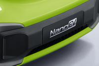 比MINI EV还要小 五菱NanoEV预告图发布