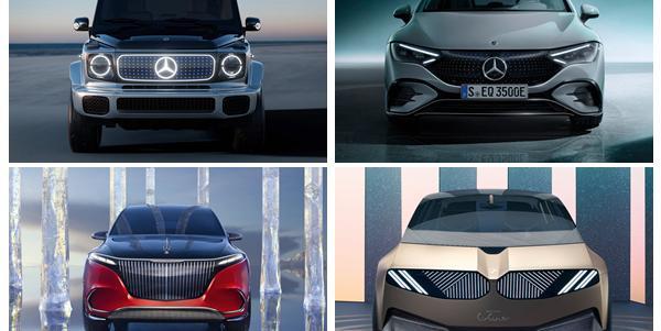 2021慕尼黑车展:奔驰纯电军团霸屏,宝马却跟你讲未来
