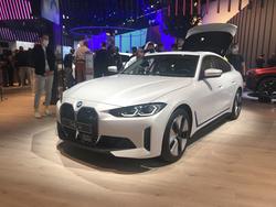 宝马首款电动轿车亮相慕尼黑车展,开启电气化新篇章