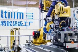 探秘上汽通用Ultium超级工厂,这里是机器人的世界